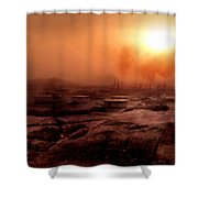Fine Art Landscape Shower Curtain