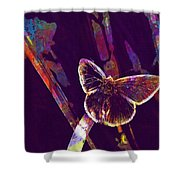 Insect Nature Live  Shower Curtain