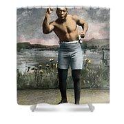 Jack Johnson, 1878-1946 Shower Curtain