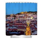 Lisbon, Portugal Shower Curtain