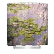 Nympheas Shower Curtain