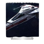 Star Wars Episode 3 Poster Shower Curtain