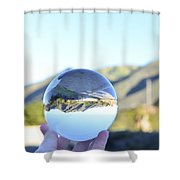180 Degrees Shower Curtain