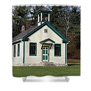 1800's School House 1 Shower Curtain