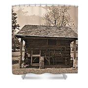 1800's Tool House Shower Curtain