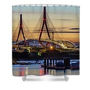 1812 Constutition Bridge From Rio San Pedro Puerto Real Spain Shower Curtain