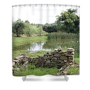 167 Shower Curtain