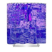 1848 Abstract Thought Shower Curtain