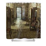 1859 Jail Shower Curtain