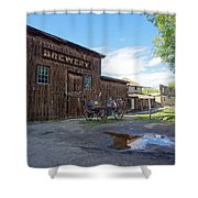 1863 H. S. Gilbert Brewery - Virginia City Ghost Town Shower Curtain