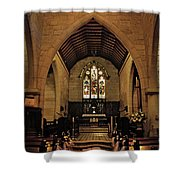 1865 - St. Jude's Church  - Interior Shower Curtain