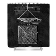 1869 Fishnet Patent Shower Curtain