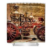 1870 Lafrance Shower Curtain