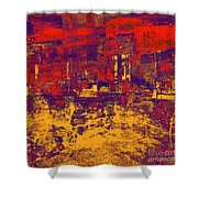 1872 Abstract Thought Shower Curtain