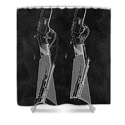 1884 Rifle Patent Shower Curtain
