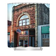 1890 Building Guthrie Ok Shower Curtain