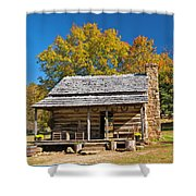 1890's Farm Cabin Shower Curtain