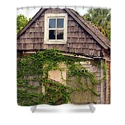 1890s Pinapple House Shower Curtain