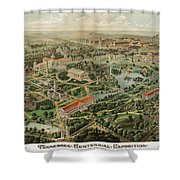1897 Nashville Tennessee Shower Curtain