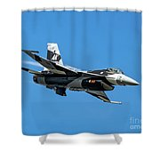 18th Aggressor Sgn Viper Pulling Up Trailing Vapes Shower Curtain