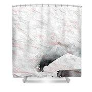18x9.8-#rithmart Shower Curtain