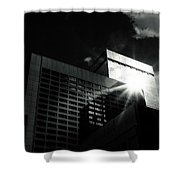 Denver Building Study Shower Curtain
