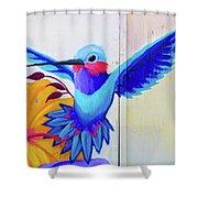 Graffiti Art Shower Curtain