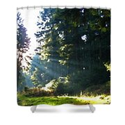 Great Landscape Shower Curtain