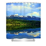 Images Landscape Shower Curtain