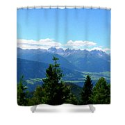 K Landscape Shower Curtain