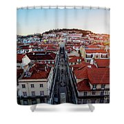 Lisbon, Portugal Shower Curtain