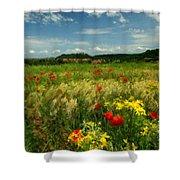 P G Landscape Shower Curtain
