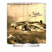 Star Wars For Art Shower Curtain