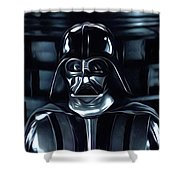 Star Wars Galaxies Poster Shower Curtain