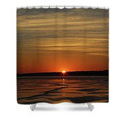 Sunset Shower Curtain