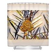 Swan Plant Shower Curtain