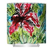 The Divine Flower Shower Curtain