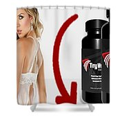 Tryvexan Shower Curtain
