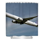United Airlines Boeing 757-224 Shower Curtain