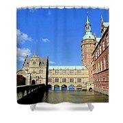 Zealand Denmark Shower Curtain