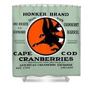1900 Honker Cranberries Shower Curtain