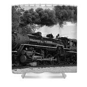 1905 Steam Engine Shower Curtain