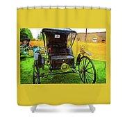 1906 Holsman Automobile Shower Curtain