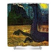 1907 Vasily Kandinsky Shower Curtain