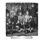 1908 Football Team Shower Curtain