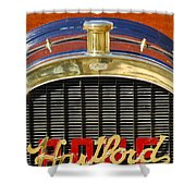 1910 Pope Hartford T Hood Ornament Shower Curtain