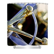 1910 Pope Hartford T Steering Wheel 2 Shower Curtain