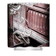 1912 Rolls-royce Silver Ghost Rothchild Et Fils Style Limousine Snake Horn -0711ac Shower Curtain