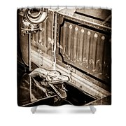 1912 Rolls-royce Silver Ghost Rothchild Et Fils Style Limousine Snake Horn -0711s Shower Curtain