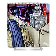 1913 Rolls Royce Silver Ghost Detail Shower Curtain